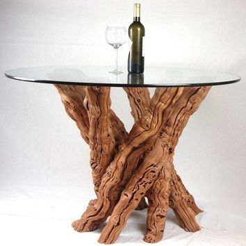 Old Vine Grapevine Dining Table by winecountrycraftsman on Etsy