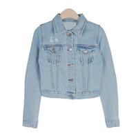 Pretty Fit! Light Blue Denim Jacket