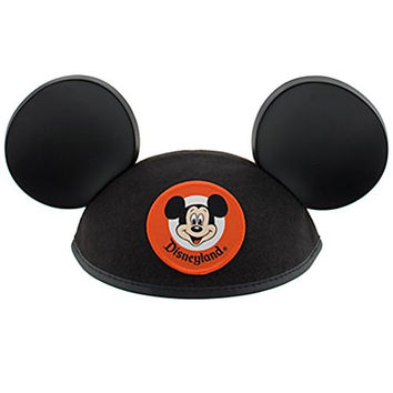 Disneyland Mickey Mouse Ears Black Hat - Adult - Disney Parks Exclusive