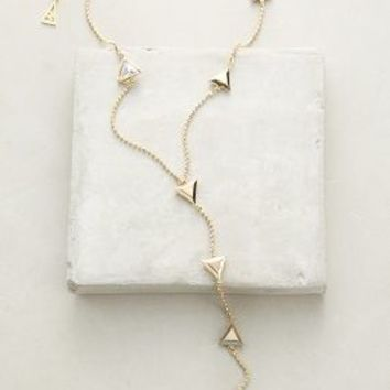 Sarah Magid Flight Formation Lariat Necklace in Gold Size: One Size Necklaces
