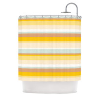 "Nika Martinez ""Desert Stripes"" Shower Curtain"
