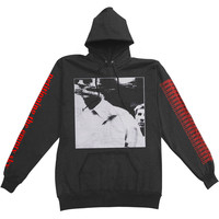 Converge Men's  Petitioning Classic Hooded Sweatshirt Black Rockabilia