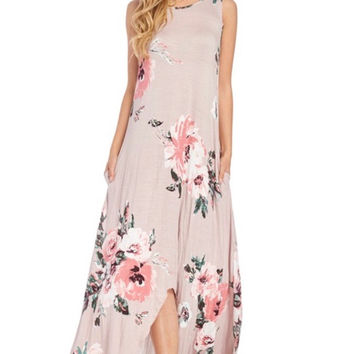 Don't Make Me Blush Maxi Dress