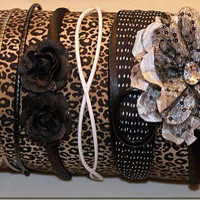 Cheetah Headband Holder