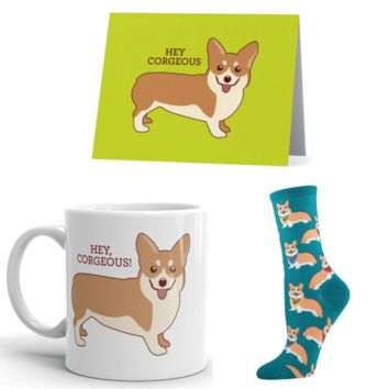 Corgi Mug Package