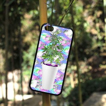 iPhone Case Sizzurp and Weed Seapunk For iPhone 4, iPhone 5, iPhone 5c, iPhone 6, iPhone 6 Plus in Plastic, Rubber or Heavy Duty*