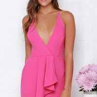 To Be Loved Fuchsia Dress