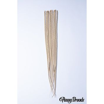 613 Blonde U-Tip Synthetic Dreadlocks (10 pieces)
