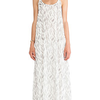 ANINE BING Maxi Dress in White