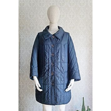 Vintage Puffer Quilted Parka Coat