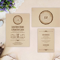 Country Wedding Invitation Sets