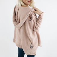 Castles In The Sky Sweater - Pink