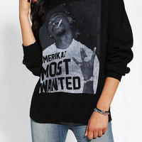 Urban Outfitters - Tupac Americaz Most Wanted Pullover Sweatshirt
