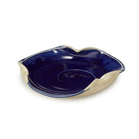 Ocean Wave Ruffle Serving Plate