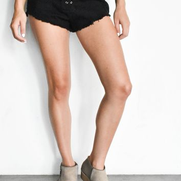 """Tyrant"" Lace Up Shorts"