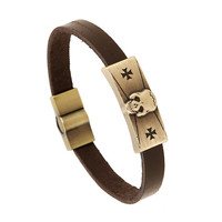 New Arrival Gift Great Deal Shiny Awesome Hot Sale Stylish Alloy Leather Cross Rack Bracelet [6058404929]
