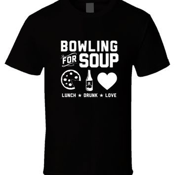 Family Friends party Board game Bowlinger for Soup 5 New Hot Sale Black Men T Shirt Cotton Size S - 3XL O Neck Short Sleeves Boy Cotton Men Western Style AT_41_3