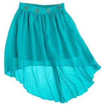 D-Signed Girls' Woven Skirt -  Blue XS