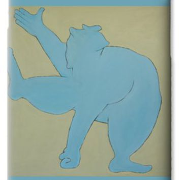 Sumo Wrestler In Blue iPhone 6 Case for Sale by Ben Gertsberg