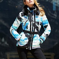 ferro print jacket - aprés coats - ski - women - Categories - Gorsuch