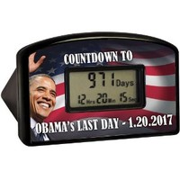 BigMouth Inc Countdown Clock & Timer - Obama's Last Day 1-20-17