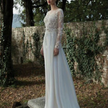 2015 New White/Ivory Bridal Gown Wedding Dress Custom Size 6 8 10 12 14 16++
