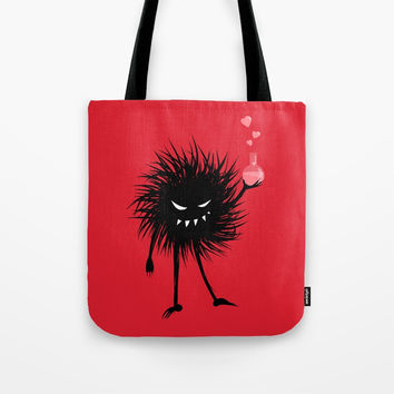 Evil Bug Made A Love Potion For You Tote Bag by borianagiormova