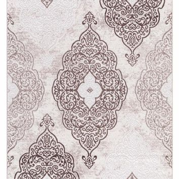 5255 Beige Contemporary Area Rugs
