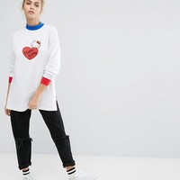 Lazy Oaf X Hello Kitty Long Sleeve T-Shirt at asos.com