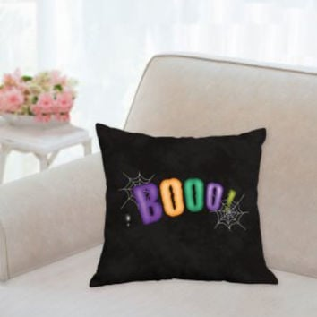 Halloween Pillow, Halloween Pillows, Boo Pillow,Spider Web Pillows, 3 sizes, Halloween decorations, Halloween Sofa Pillow, Halloween Accent