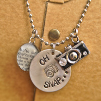 Oh Snap Photography Necklace - Photographer