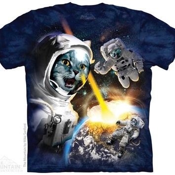 New CATACLYSM (CATS IN SPACE!) T SHIRT