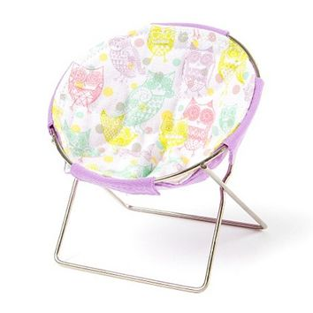 Pastel Owl Cell Phone Chair | Claire's