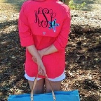 Womens Columbia Fishing Shirt with Lilly Pulitzer Accent
