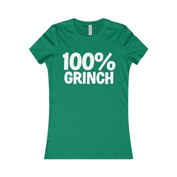 100% Grinch Christmas Women's T-Shirt