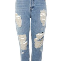 MOTO Bleach Super Ripped Hayden Jeans