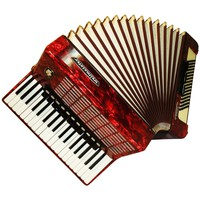 Weltmeister Stella, 96 Bass, 14 Registers, German Piano Accordion, 619