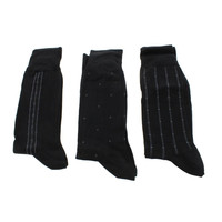 Nautica Mens Knit Printed Crew Socks