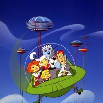 Jetsons The Poster Standup 4inx6in