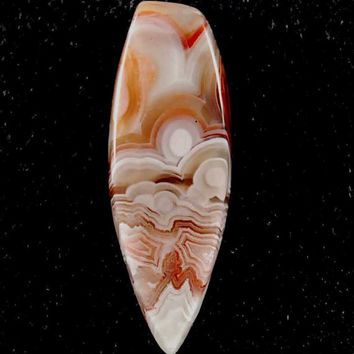 Laguna Lace Banded Agate Cabochon