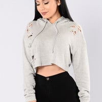 Sledge Hammer Top - Heather Grey