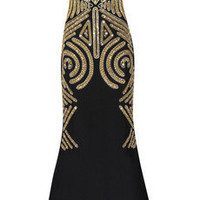 Marchesa Embellished silk-crepe gown - 55% Off Now at THE OUTNET