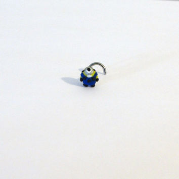Despicable me minion nose ring