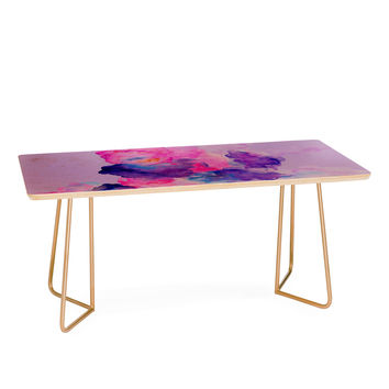 Viviana Gonzalez Watercolor Love 1 Coffee Table