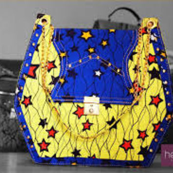 UNIQUE ANKARA HANDBAG