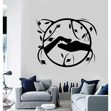 Wall Stickers Vinyl Decal Paw Hand Pet Shop Grooming Salon Decor Unique Gift (ig162)