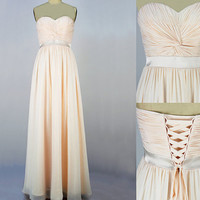 Free shipping long prom dress, cheap prom dress, evening prom dresses, chiffon prom dress, RE159
