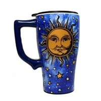Spoontiques Celestial Travel Mug, Blue