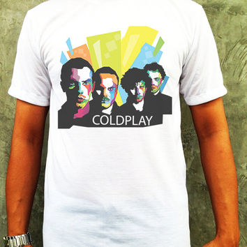 Coldplay T-shirt Rock Music T-Shirt Clothing Unisex T-Shirt