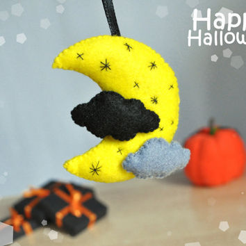 Halloween ornaments felt decor toys Halloween gift decor cute Halloween felt ornament party favors decorations Halloween scary decor